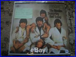 The Beatles-yesterday And Today-butcher Baby Cover-rare Blue Vinyl