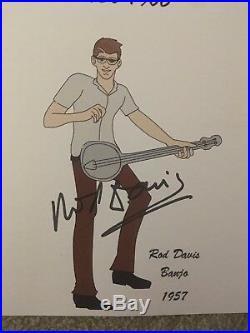 The Quarrymen Signed Photograph The Beatles Paul Mccartney Ringo Starr Vinyl Lp