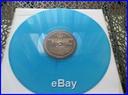 The beatles please please me blue vinyl gold /black labels ex ex stereo uk