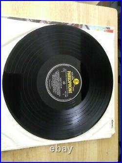 The beatles vinyl lp please please me stereo GOOD KT YELLOW BLACK LABELS