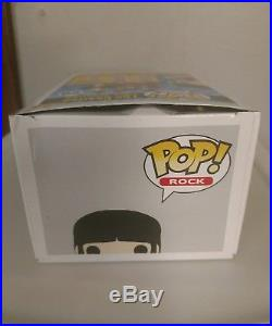 UNOPENED Funko Pop Rock The Beatles #28 Paul McCartney Vinyl Figure (box wear)
