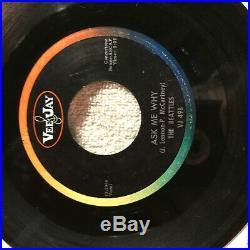 VERY RARE, THE BEAT(T)LES (TT), PLEASE PLEASE ME VJ 498 45rpm Vinyl Mono