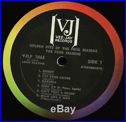 VINYL LP Beatles Vs The Four Seasons Vee Jay DX 30 2LP mono 1964 pressing VG+