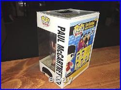 Vaulted Funko POP! Vinyl Figure MIB Rock The Beatles PAUL McCARTNEY #28 (DMG)