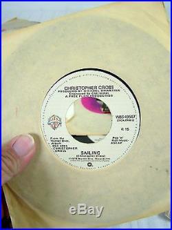Vintage Vinyls Records The Beatles Guns N Roses Dolly Parton Yoko Ono Tom Petty