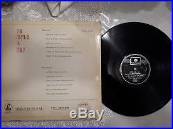 Vinyl Lp 12 33 The Beatles -in Italy/black Parlophone Leminated Mega Rare-il