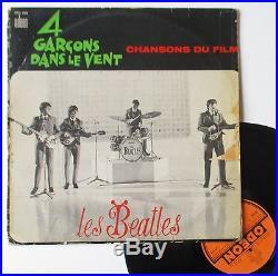 Vinyle 33T The Beatles 4 garçons dans le vent 1st French OSX 226
