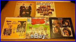 Vtg Lot of 26 THE BEATLES LP Record Vinyl Album
