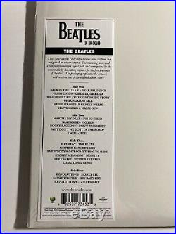 White Album The Beatles Vinyl LP 2 Discs. 2014 MONO NEW SEALED OOP Record