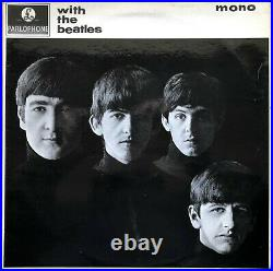 With The Beatles 1963 Uk Parlophone Mono Vinyl Lp Pmc 1206 Jobete Credit