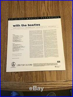 With The The Beatles MFSL 1983 super vinyl Japan pressing unplayed Mint- cond